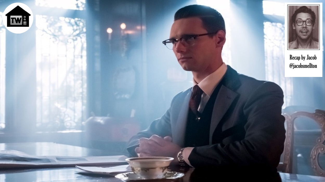 Gotham How the Riddler Got His Name