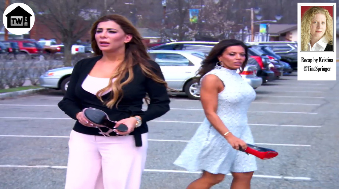 Real Housewives of New Jersey And Then There Were Four