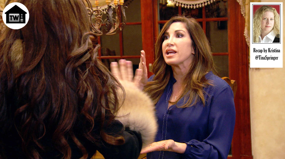 Real Housewives of New Jersey Dinner Interrupted